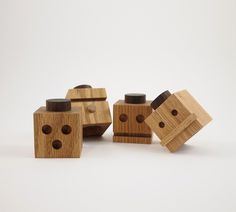 Dino Sanchez Totems #wood #toys #craft