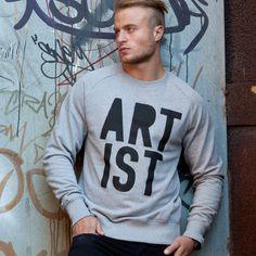 Artist Sweatshirt #typography #fashion #photography #sweatshirt #artist