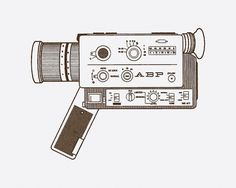 Daniel Ray Cole #illustration #camera