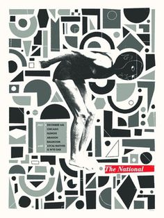 FFFFOUND! | GigPosters.com - National, The - Local Natives - Wye Oak #gig #national #poster