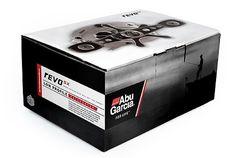 Abu Garcia : Matt Travaille : Graphic Design | Minneapolis #abu #red #garcia #packaging #grayscale #travaille #box #black #fishing