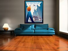 Art Deco inspirations #retro #illustration #art #poster #brier #david #deco