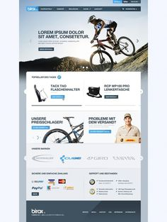 Web Design / Birox #website