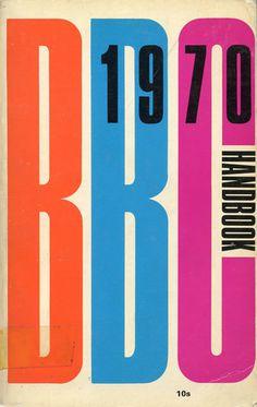 BBC Handbook #70s #retro #vintage #typography