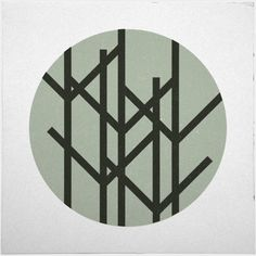 Geometry Daily #geometry #print #geometric #simple #wood #minimal #poster #forest