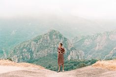 FFFFOUND! #fashion #mountains #girl