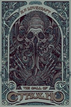 OMG Posters! » Archive » Florian Bertmer's Book Show Prints (Onsale Info) #lovecraft #illustration #poster #cthulhu