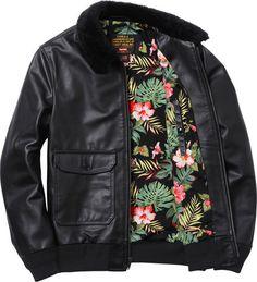 1 schott r _leather_flight_jacket_1329738910 #fashion #mens #jacket