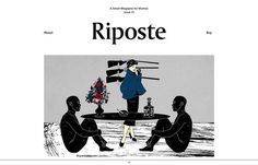 Inspiration N°148 : Riposte #gallery #inspirations #design #the #website #web