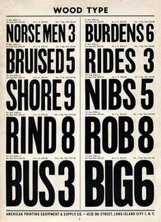 Merde! - Typography (American Printing Equipment Complete... #typography