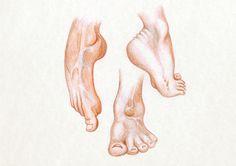 #bodyparts #sketch #pencil #colors #feet #foot #skinn #toe #nail