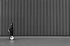 Black and White Minimalist Approach to Tokyo by Hiroharu Matsumoto