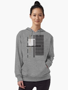 """Urban Graphic"" Lightweight Hoodie by JimKeaton 