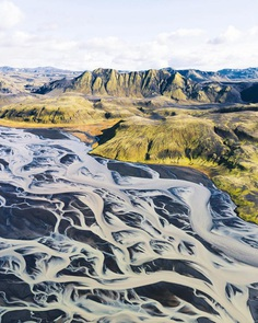 Fantastic Aerial Photos of Iceland and Switzerland by Federico Sette