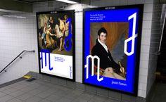 Creative Review - Sagmeister & Walsh rebrand New York's Jewish Museum #branding #logo #ad #promotion