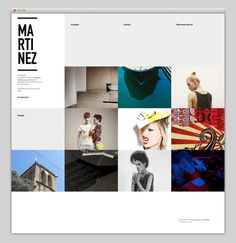 Brice Martinez #website #layout #design #web