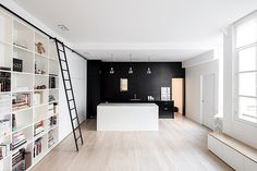 Kabinett Apartment – Conversion of a Former Manufacturing Workshop in Paris