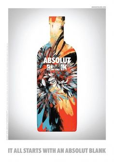 IdN™ POTM® — Kinsey for Absolut Campaign #vodka #bottle