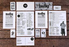 Trafiq « Kiss Miklos #identity #collateral #branding