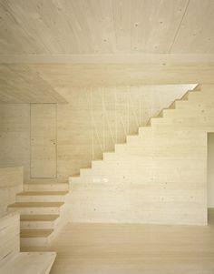 JustK_martenson und nagel theissen_7 #void #solid #interiors #wood #architecture #stairs