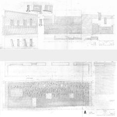 st. peter (construction details) . klippan . sigurd lewerentz . 1962 65 #brick #lewerentz #sigurd #technical #drawing