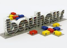 3D Type collection on the Behance Network #typography