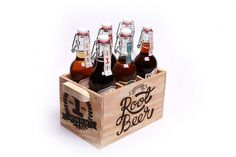 Ipswich Brewing Co. on the Behance Network -- Tops and wood package is nice