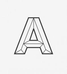 Futura A #futura #letters