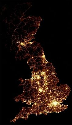 Mapping Every Accident on the Roads of Great Britain - information aesthetics #infographic #accident #road