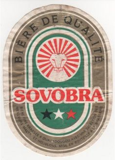 10 vintage African beer labels | CreativeRoots - Art and design inspiration from around the world #design