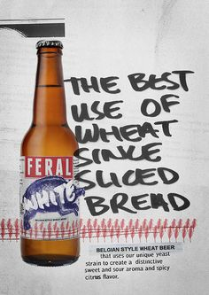 Feral White Ad #campaign #beer