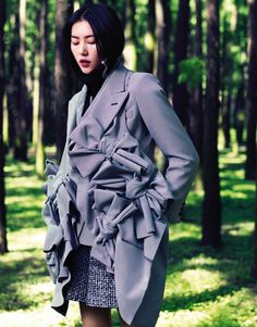 Liu Wenby Stockton Johnson for Grazia China #fashion #model #photography #girl