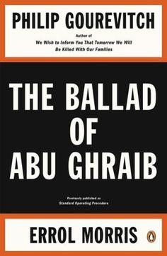 The Book Cover Archive: The Ballad of Abu Ghraib, design by Darren Haggar #book #cover #darren #penguin #haggar