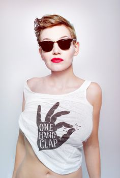 One Hand Clap t-shirt