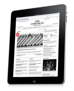 The Chronicle of Higher Education | gregoryhubacek.com #design #interface #app