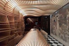 march studio: baker d. chirico #reuse #interiors #adaptive