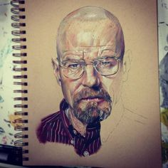 "CJWHO â""¢ (Breaking Bad Drawings by Andrew Wilson Get ready...) #amazing #breaking #wilson #design #illustration #art #drawing #bad #andrew"