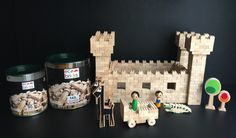 Eco-bricks Castle
