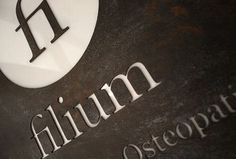 Filium on the Behance Network #elantidoto #oxid #identity #logo #typography