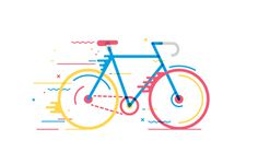Bicicletas on Behance #vector #bike #bicycle #movement