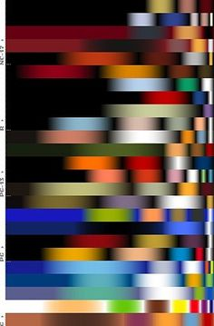 FFFFOUND! | Speak Up › Dark and Fleshy: The Color of Top Grossing Movies #movies #pixels