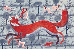 EleanorTaylor_04 #illustration #eleanortaylor #fox #people