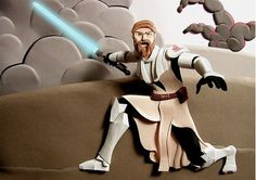 Paper Layers Can Create Stunning Art « BLOGNATOR #star wars #paper #obi wan