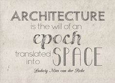 made this for a birthday present. #type #architecture #quotes