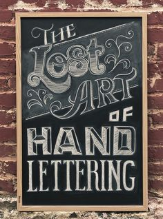 Handwritten Lettering - By Chris Yoon #lettering #hand