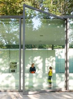 Dezeen » Blog Archive » Villa Roces by Govaert & Vanhoutte #door #architecture