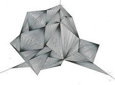 Estrutura (XYZ) | Flickr – Condivisione di foto! #illustration #geometry #drawing