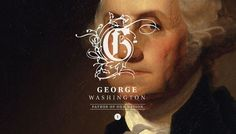 http://brandingtheuspresidents.tumblr.com/ #states #george #washington #design #graphic #american #president #united #america #typography