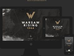 Warsaw Rising on Behance #exhibition #warsaw #wall #rising