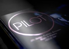 Pilot Magazine — PILOT Shortlisted at the London D&AD Awards #zealand #auckland #black #pilot #inhouse #magazine #new